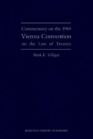 Copertina Commentary on the 1969 Vienna Convention on the Law of Treaties