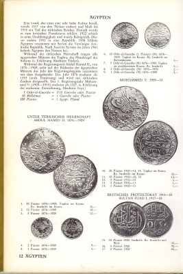 Book cover Catalog of World Old Coins (Antique - 1400 - 1980)