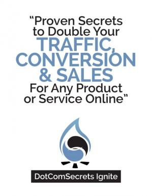 A capa do livro Traffic Conversion and Sales 111pp.