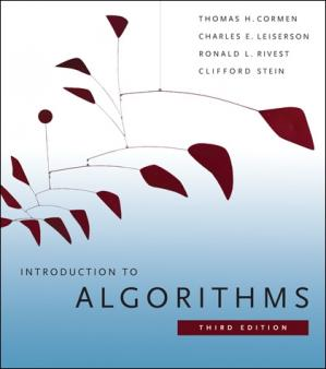Обложка книги Introduction to algorithms