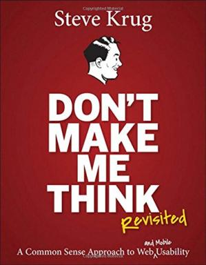 Sampul buku Don't make me think, revisited : a common sense approach to Web usability