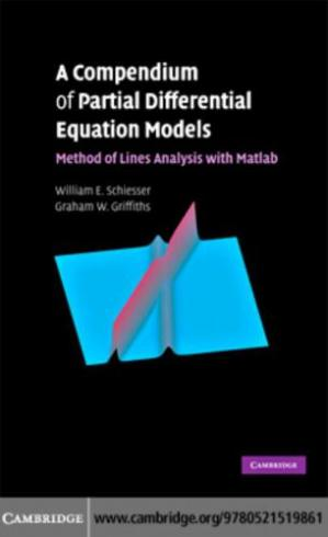Korice knjige A Compendium of Partial Differential Equation Models: Method of Lines Analysis with Matlab
