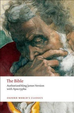 पुस्तक कवर The Bible: Authorized King James Version