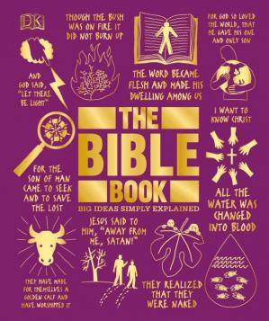 Обкладинка книги The Bible Book (Big Ideas Simply Explained)