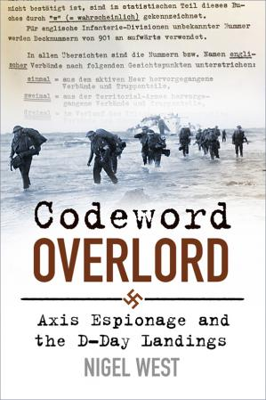 Book cover Codeword Overlord: Axis Espionage and the D-Day Landings