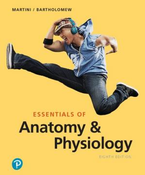 Book cover Essentials of anatomy & physiology