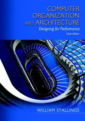 Book cover Computer Organization and Architecture Designing for Performance 10th Edition