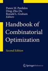Book cover Handbook of Combinatorial Optimization