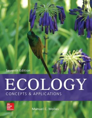 पुस्तक कवर Ecology: Concepts and Applications