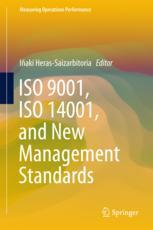 Book cover  ISO 9001, ISO 14001, and New Management Standards
