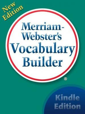 Book cover Merriam-Webster's Vocabulary Builder