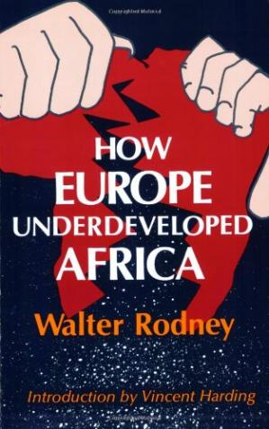 Book cover How Europe Underdeveloped Africa