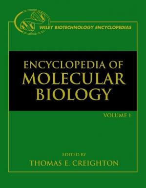 La couverture du livre The Encyclopedia Of Molecular Biology