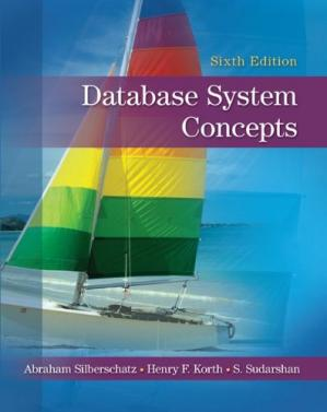 Обложка книги Database System Concepts, 6th Edition