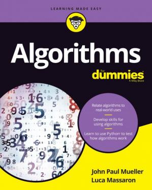 Sampul buku Algorithms for Dummies
