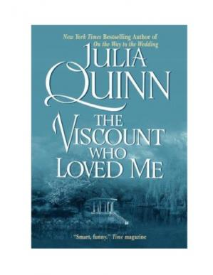 Book cover The Viscount Who Loved Me (Bridgerton Series, Book 02)