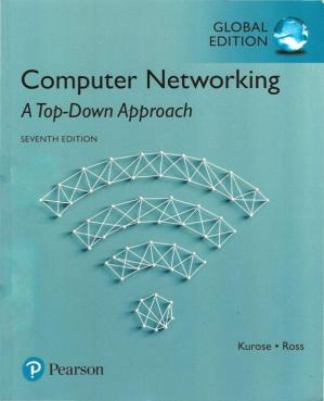 Book cover Computer Networking - A Top-down Approach