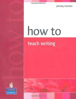 Book cover How to Teach Writing
