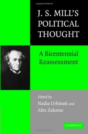 Bìa sách J.S. Mill's Political Thought: A Bicentennial Reassessment