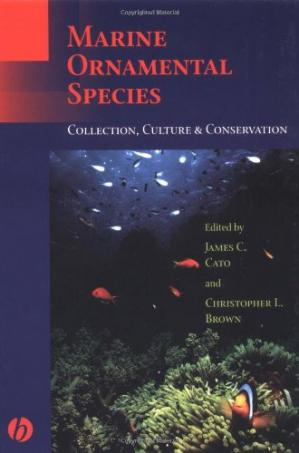 Обложка книги Marine Ornamental Species Collection Culture and Conservation