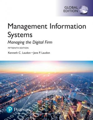 Book cover Management Information Systems: Managing the Digital Firm