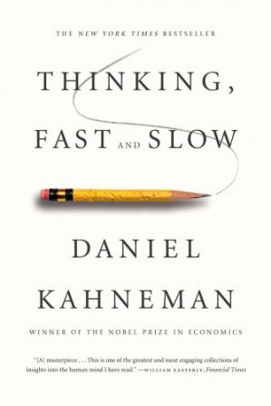 غلاف الكتاب Thinking, Fast and Slow