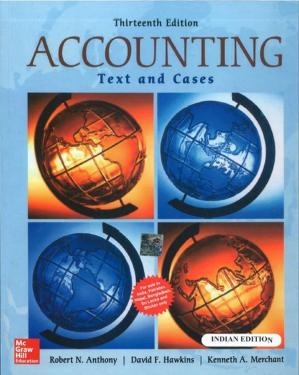 Book cover Accounting: Texts And Cases (edn 13) By David Hawkins,kenneth A. Merchant,rober