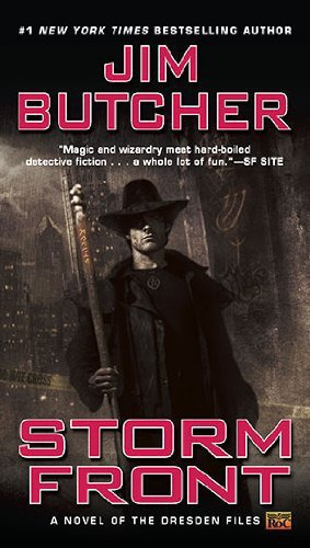 Book cover Dresden Files 01 Storm Front