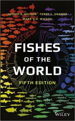Portada del libro Fishes of the world, 5th Edition.