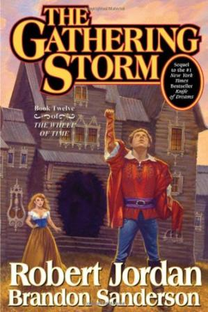 表紙 The Gathering Storm (Wheel of Time)
