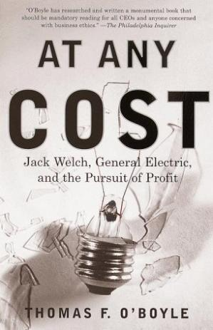 Book cover At Any Cost: Jack Welch, General Electric, and the Pursuit of Profit