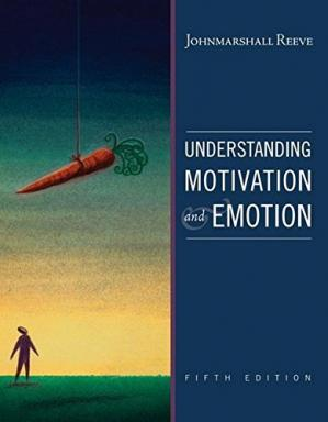Book cover Understanding Motivation and Emotion