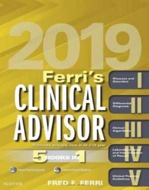 Sampul buku Ferri's Clinical Advisor