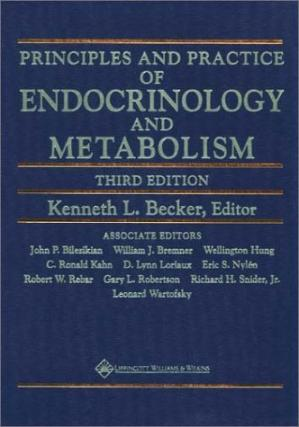 Book cover Principles And Practice Of Endocrinology And Metabolism