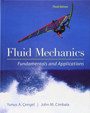 पुस्तक कवर Fluid Mechanics Fundamentals and Applications 3rd Edition Solutions Manual