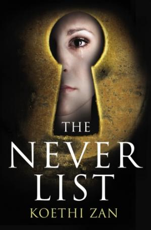 Book cover The Never List
