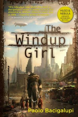 Portada del libro The Windup Girl