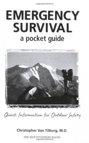 Copertina Emergency survival: a pocket guide: quick information for outdoor safety