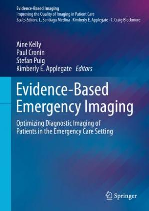 Обкладинка книги Evidence-Based Emergency Imaging