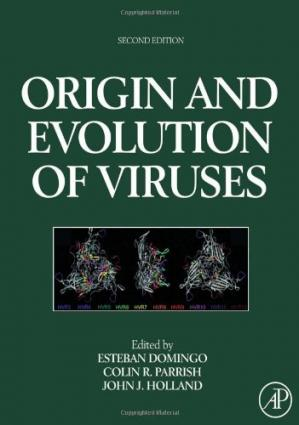 Portada del libro Origin and evolution of viruses