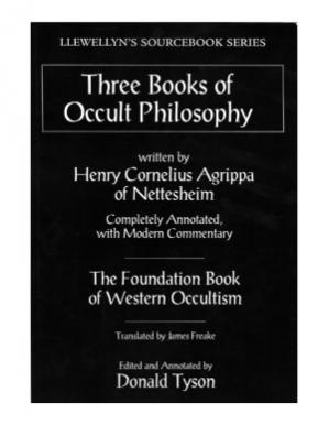Okładka książki Three Books of Occult Philosophy