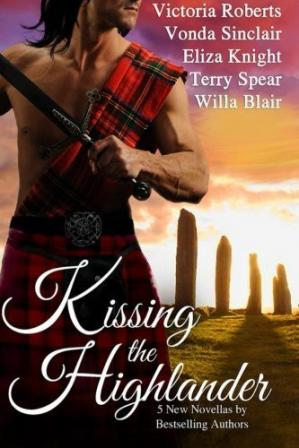 Book cover Kissing the Highlander