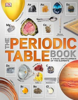 Sampul buku The Periodic Table Book: A Visual Encyclopedia of the Elements