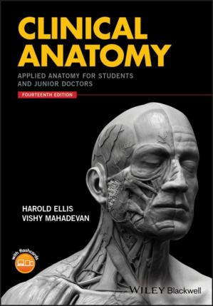 Book cover Clinical Anatomy: Applied Anatomy for Students and Junior Doctors