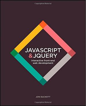 A capa do livro JavaScript and JQuery: Interactive Front-End Web Development