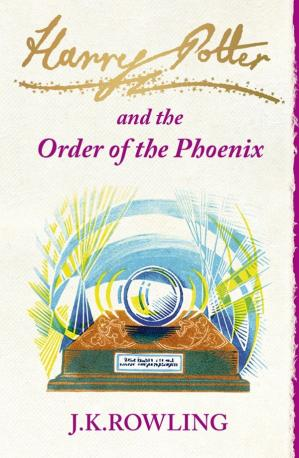 Book cover Harry Potter and the Order of the Phoenix # (UK)