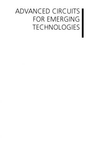 Book cover Advanced Circuits For Emerging Technologies