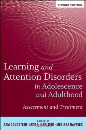 Book cover Learning and Attention Disorders in Adolescence and Adulthood: Assessment and Treatment