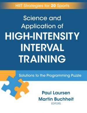 表紙 Science and Application of High-Intensity Interval Training Solutions to the Programming Puzzle