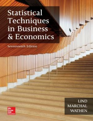 Sampul buku Statistical Techniques in Business and Economics